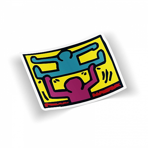 Стикер Keith Haring - Pop Shop #6