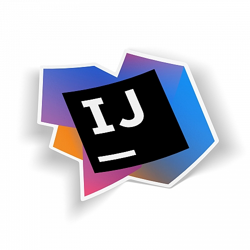 Стикер  IntelliJ IDEA