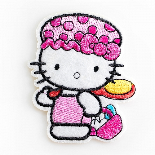 Нашивка Hello Kitty синяя