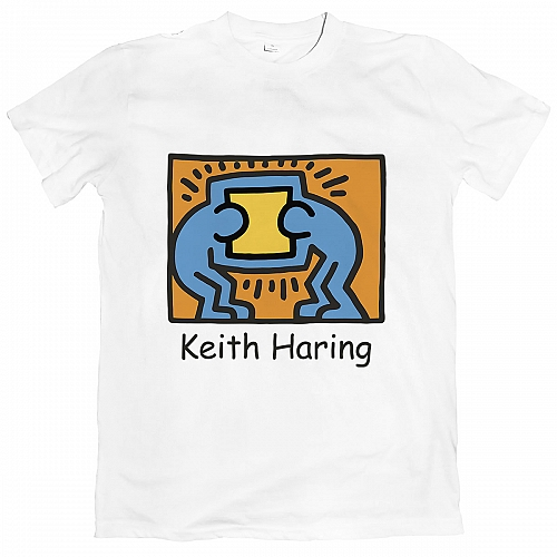 Футболка Keith Haring - Pop Shop #1