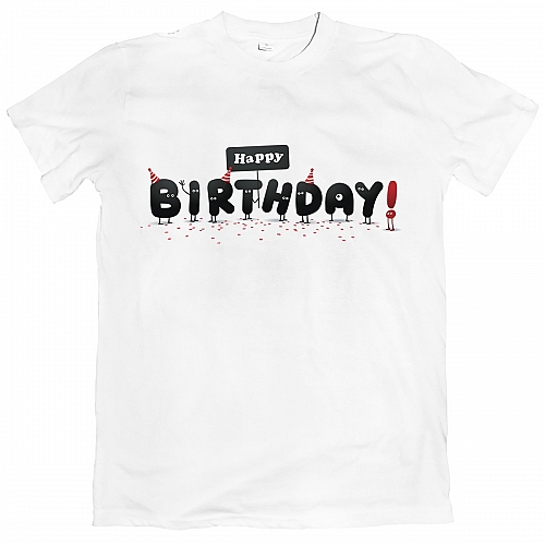 Футболка Happy Birthday Horror