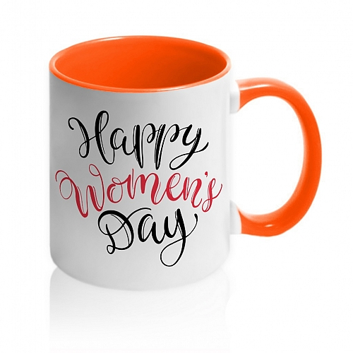 Кружка Happy Womans Day (Red)