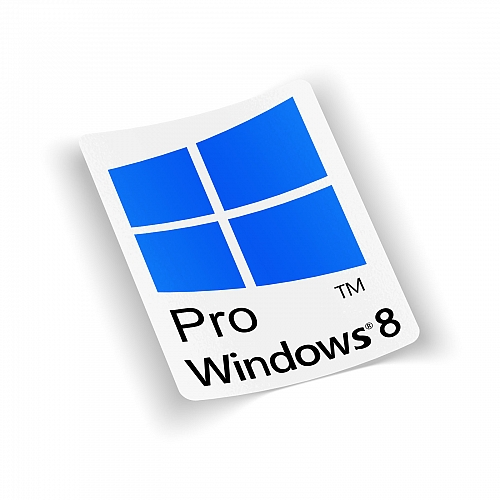Стикер  windows 8 Pro