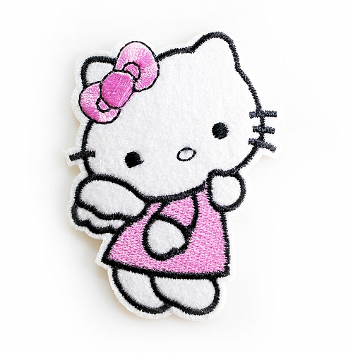 Нашивка Hello Kitty няшка