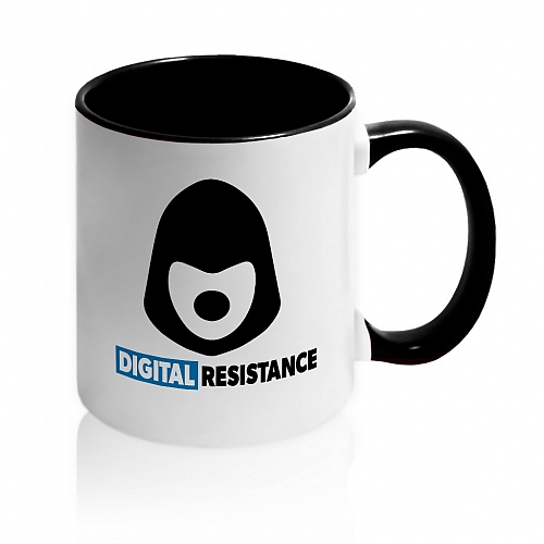 Кружка Digital Resistance Dog