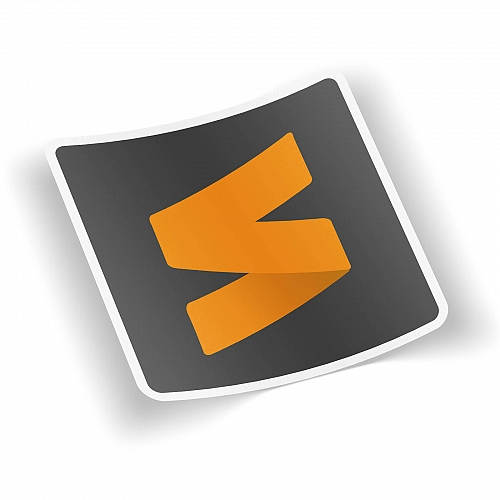 Стикер Sublime Text