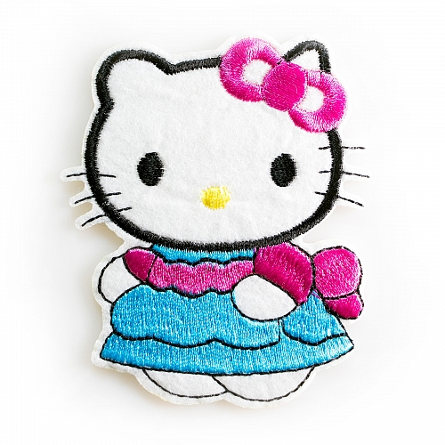 Нашивка Hello Kitty в платье