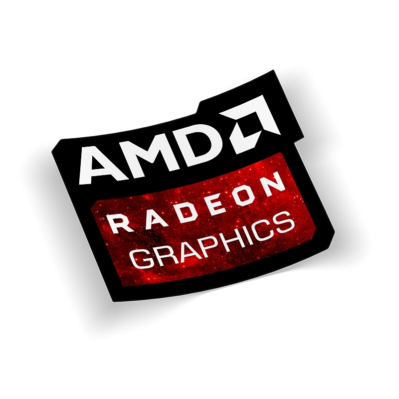 Стикер AMD Radeon Graphics #1